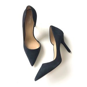Michael Kors Julieta d'orsay suede pumps